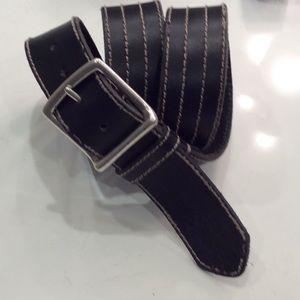 Lucky Men's Leather Belt